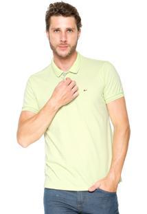 Camisa Polo Aramis Manga Curta Slim Verde