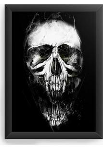 Quadro Decorativo Skull X
