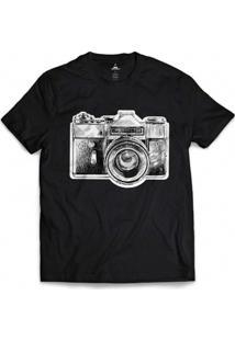 Camiseta Skill Head Photograph - Masculino-Preto