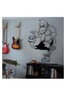 Adesivo De Parede Donkey Kong - G 100X65Cm