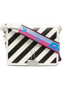 Off-White Diagonal Flap Bag - Branco