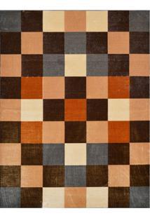Tapete Marbella Dante Retangular (150X200Cm) Colorido