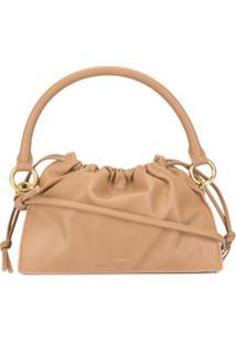 Yuzefi Bom Mini Drawstring Bag - Marrom