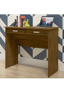 Mesa Para Computador 2 Gavetas 04080 Malbec - Ej Móveis