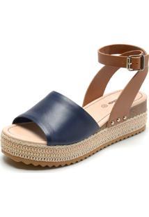 41e176aca Sandália Azul Marinho Bottero feminina | Shoelover