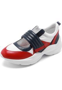 Tênis Dumond Dad Sneaker Vermelho