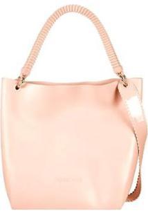 Bolsa Petite Jolie Box Bag Clericot Feminina - Feminino-Creme