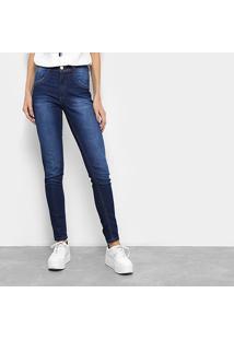 f75829075 ... Calça Jeans Skinny Biotipo Melissa Soft Estonada Cintura Média Feminina  - Feminino
