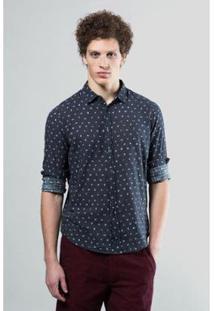 Camisa Reserva Regular Estampa Igual - Masculino