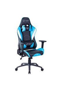 Cadeira Gamer Husky Storm Cyan Black White - Hst-Cbw