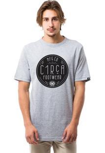 Camiseta C1Rca Deco - Masculino-Cinza