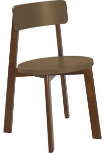 Cadeira Lina 75 Cm 941 Cacau/Marrom Médio - Maxima