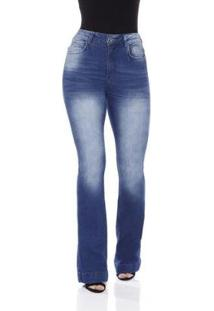Calça Jeans Prs Jeans Capri Rasgos Feminina - Feminino