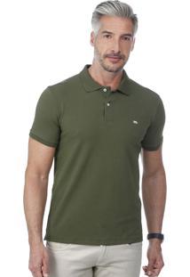 Camisa Polo Javali Militar Cotton Basic