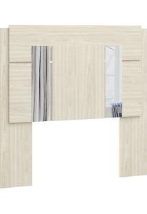 Cabeceira Box Solteiro Com Espelho 7751A-Castro - Nude