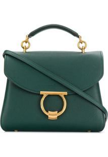 Salvatore Ferragamo Small Margot Tote Bag - Verde