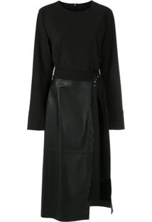 Gloria Coelho Vestido Curto Com Saia Destacável - Preto