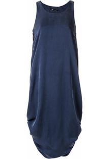 Uma | Raquel Davidowicz Vestido Sem Mangas - Azul