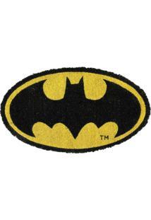 Capacho De Fibra De Coco Logo Do Batman