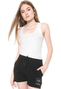 Regata Calvin Klein Underwear Canelada Branca