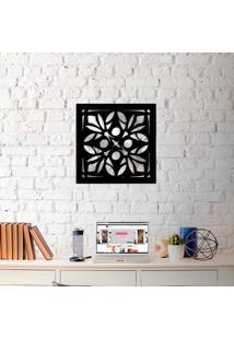 Escultura De Parede Wevans All Abstract + Espelho Decorativo