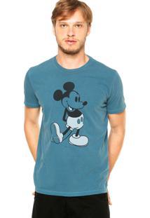 Camiseta Ellus Mickey Azul