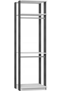 Closet 2 Prateleiras E 2 Cabideiros 1005 - Be Mobiliário