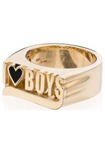 Established Anel I Heart Boys De Ouro 14K - Gold