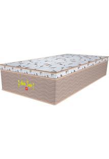 Colchão Solteiro Pillow Top Martin Taylor Plw Euro - Pelmex - Branco / Marrom