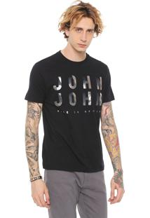 Camiseta John John Reflect Preta