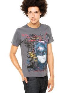 Camiseta Ellus 2Nd Floor Basic Batman Cinza
