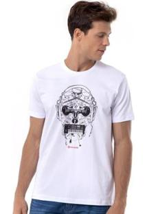 Camiseta Long Island Inst - Masculino-Branco