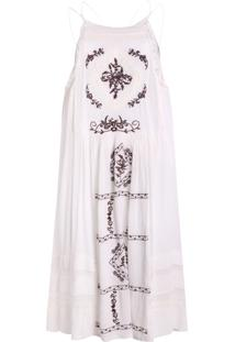 Vestido Be Fashion 4Ever Renda Branco