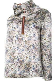 Martina Spetlova Blusa De Seda Assimétrica - Estampado
