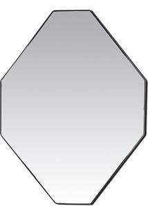 Espelho Octógono- Espelhado- 30X40X1Cm- Decor Gldecor Glass