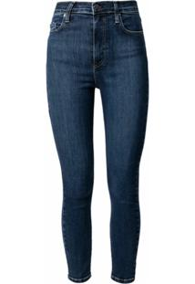 Nobody Denim Calça Jeans Skinny Sire Cintura Alta - Azul