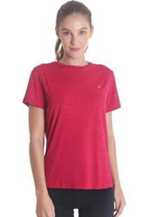 Camiseta Líquido Basic Energy Feminina - Feminino-Rosa Escuro