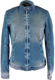 Jaqueta Fiero Térmica Jeans Queens - Feminino