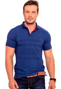 Camiseta Polo Azul Marinho - Masculino