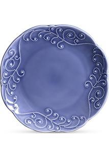 Jogo De Pratos Ceramica Rasos Charmonix 6Pcs Cj6