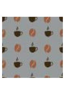 Papel De Parede Autocolante Rolo 0,58 X 3M - Café Xicara Cozinha 27293910
