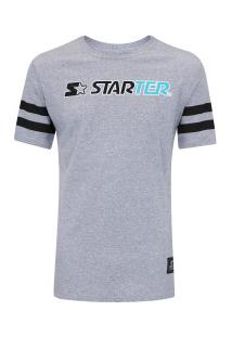 Camiseta Starter Estampada - Masculina - Cinza