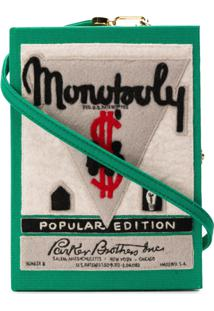 Olympia Le-Tan Bolsa Clutch 'Monopoly Popular Edition' - Green