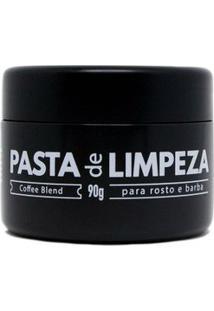 Pasta Barba Urbana De Limpeza E Esfoliante Para Barba E Rosto 90G - Masculino-Incolor