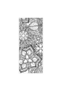 Adesivo Decorativo De Porta - Mandala - 299Cnpt Auto Colante