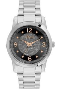 3a97bfb239c Relógio Digital Amor Glitter feminino