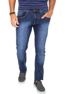 Calça Jeans Billabong Slim Pacific Azul