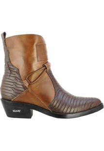 Bota Texana Hb Agabe Boots 2P Masculina - Masculino-Café