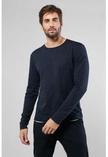 Camiseta Double Face Flame Botone Reserva - Masculino-Preto