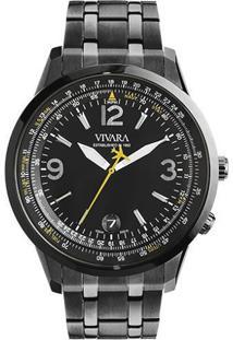 Relógio Vivara Masculino Aço Cinza - Ds13104R0G-1